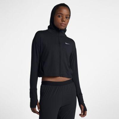 553053451350cc Nike Damska bluza do biegania z kapturem i zamkiem na całej długości  Element - Czerń 928729