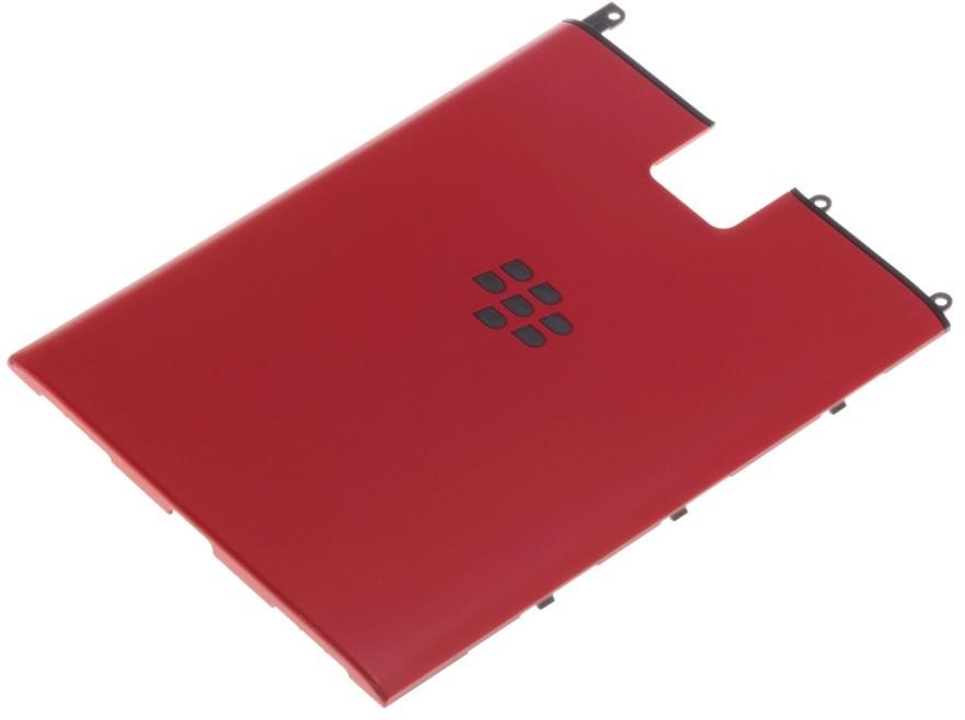 BlackBerry KLAPKA BATERII PASSPORT CZERWONA ORYGINALNA GRADE A 35004-uniw