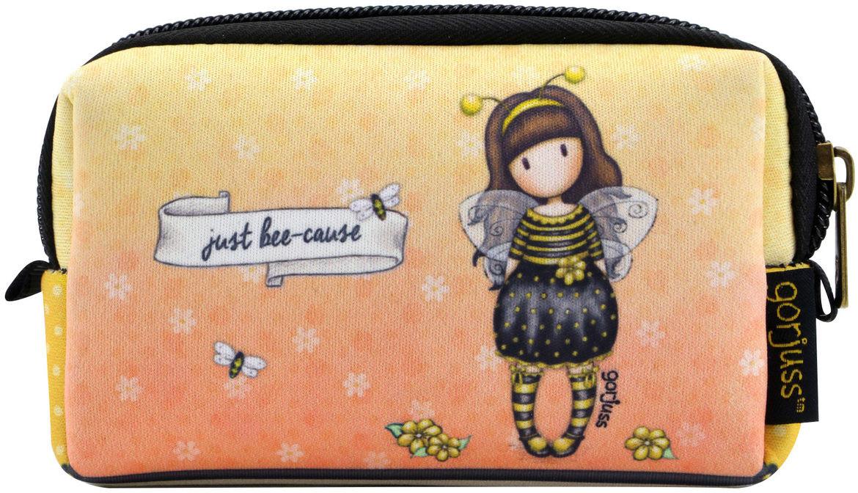 Santoro Santoro żółte neoprenowe etui Gorjuss Bee-Loved (Just Bee-Cause) 908GJ01