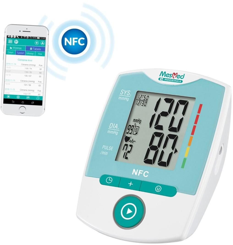 Opinie o MESMED Ciśnieniomierz z modułem NFC Semfio MM 250