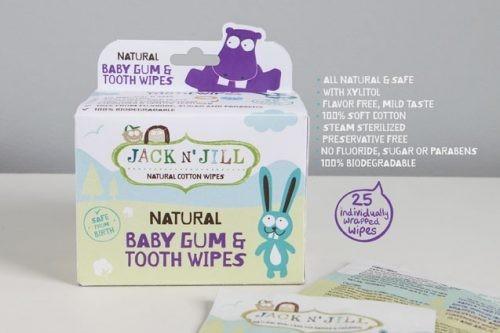 Jack N'Jill Wymienne końcówki do elektrycznej szczoteczki do zębów Buzzy Brush JACK N'JILL 2 szt. 3329-uniw