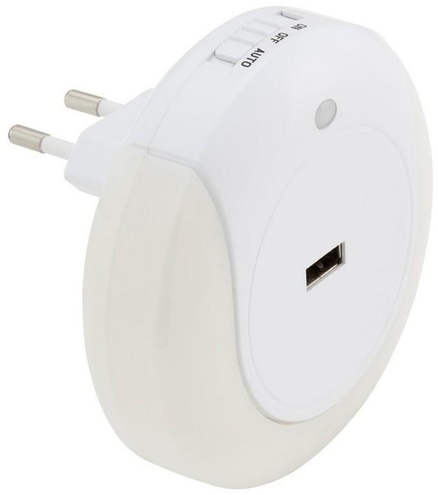 Briloner 2094-016 - LED Oświetlenie orientacyjne LED/0,8W/230V okrągły