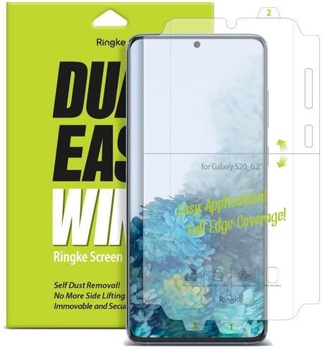 Ringke Rearth Folia hydrożelowa na ekran i boki Dual Easy Wing Galaxy S20 8809688897658