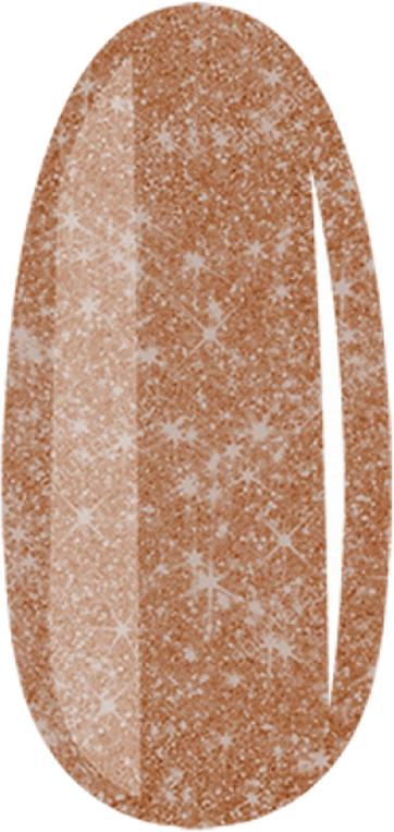 DUOGEL 075 Glitter Brown - lakier hybrydowy 6ml