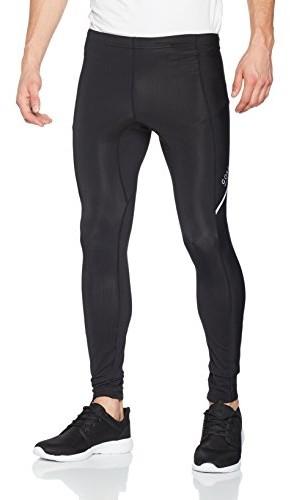 Gore Running Wear męska ciasno Thermo-spodenki do biegania, Gore Selected Fabrics, Essential Thermo Tights, teseth, czarny, xxl TESETH990007