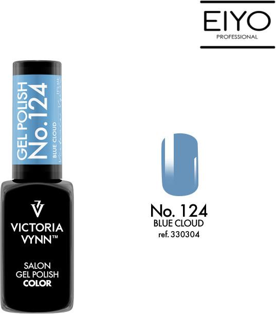 Victoria Vynn Lakier hybrydowy Blue Cloud nr 124 - 8 ml 330304