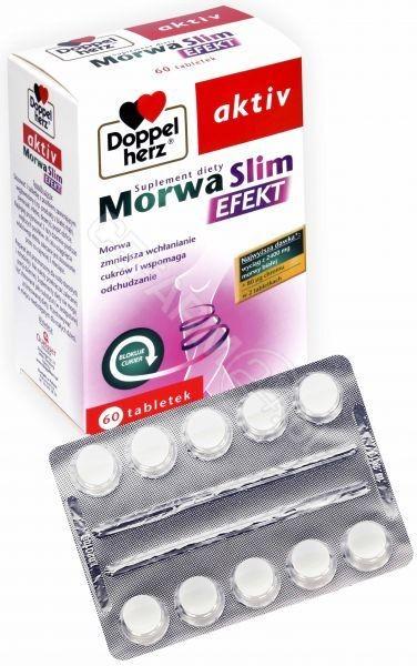 Pharma Queisser Doppelherz Aktiv Morwa slim Efekt 60 tabletek 8309341