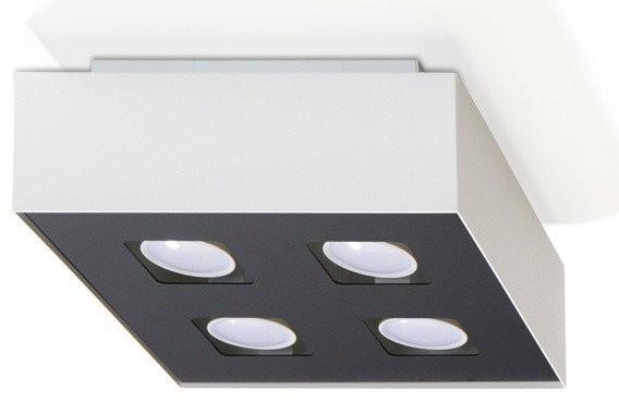 Sollux Lighting Plafon MONO 4 biały SL.0069