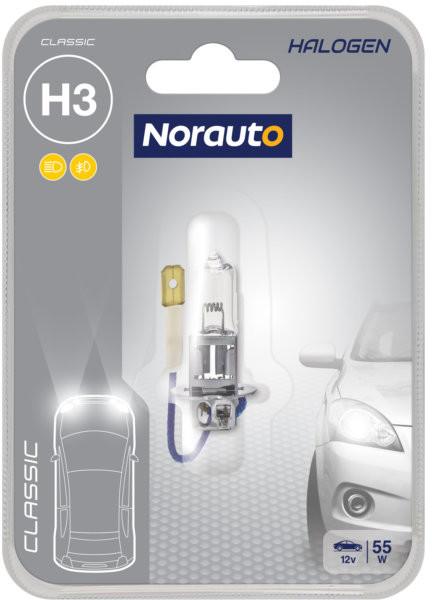 Norauto Żarówka H3 55W 12V Norauto Classic 1SZT