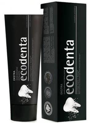 BIOK LABORATORIA EcoDenta Pasta do zębów wybielająca z węglem drzewnym 100ml