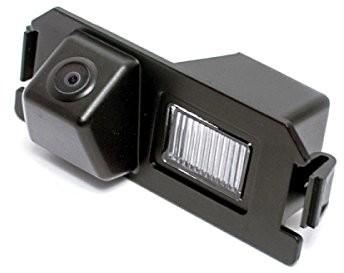 akhan-tuning Akhan CAM35 kamera cofania z kolorowym wyświetlaczem, linie pomagające w parkowaniu, pasuje do Hyundai I30, GENESIS, ROHENS-COUPE, Tiburon, Veloster, Kia Terracan, soul, Rio CAM35