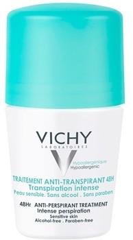 Vichy Deodorant antyperspirant roll-on przeciw nadmiernej potliwości 48h 50 ml