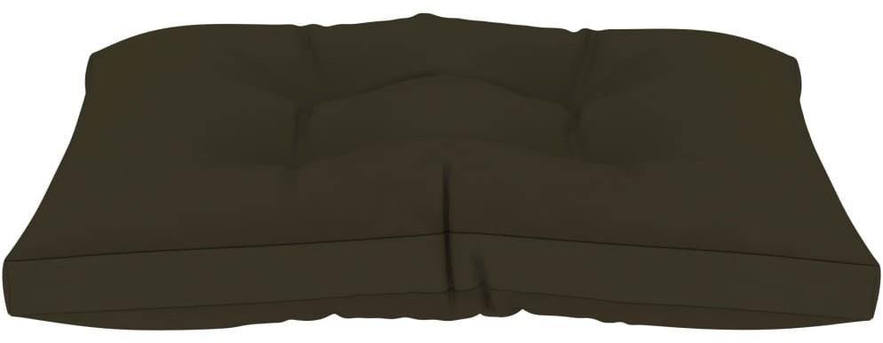 vidaXL Poduszki na sofę z palet, 2 szt., kolor taupe, tkanina vidaXL