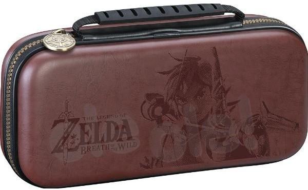 Bigben Etui BigBen na konsolę Nintendo Switch z motywem Zelda Brązowe NNS42BR