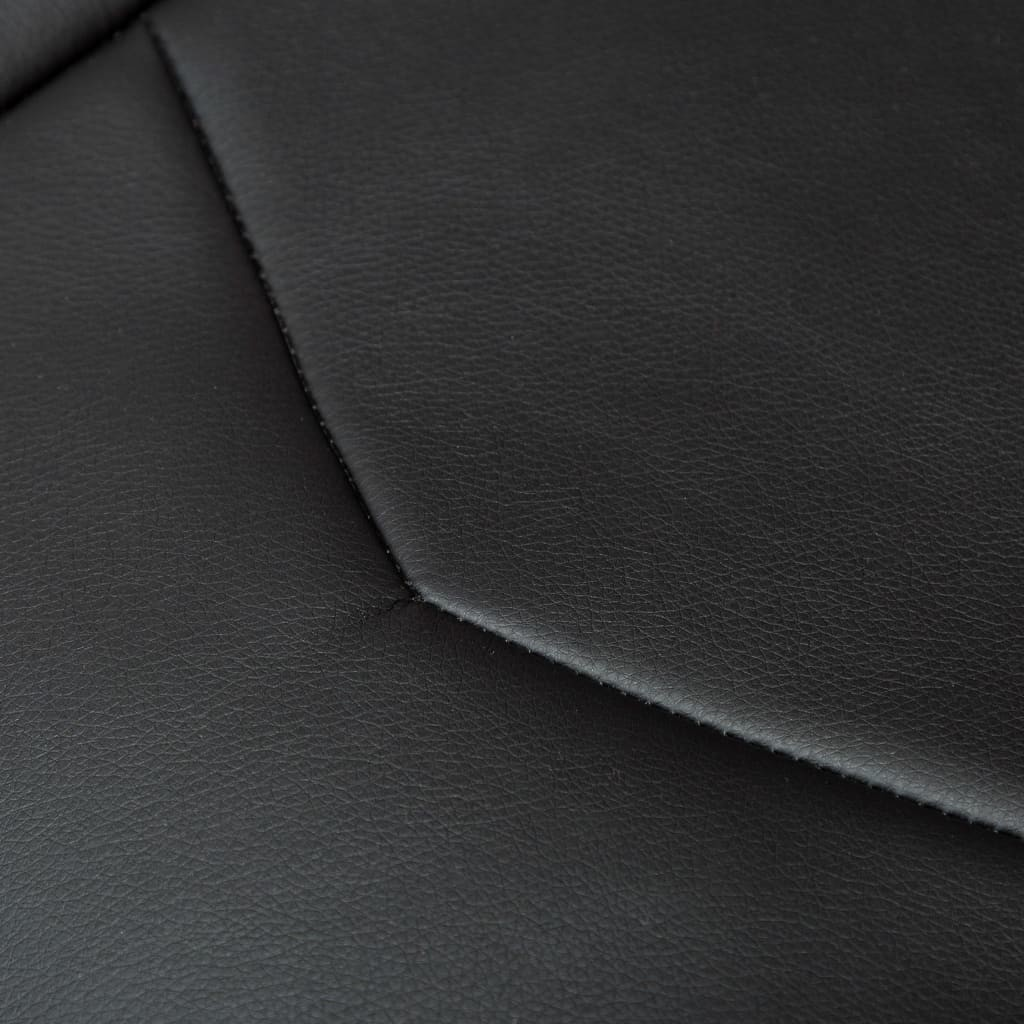 vidaXL vidaXL Rozkładany fotel dla gracza z podnóżkiem, czerwony, ekoskóra