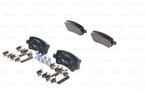 Bosch Zestaw klocków hamulcowych, hamulce tarczowe 0 986 494 213