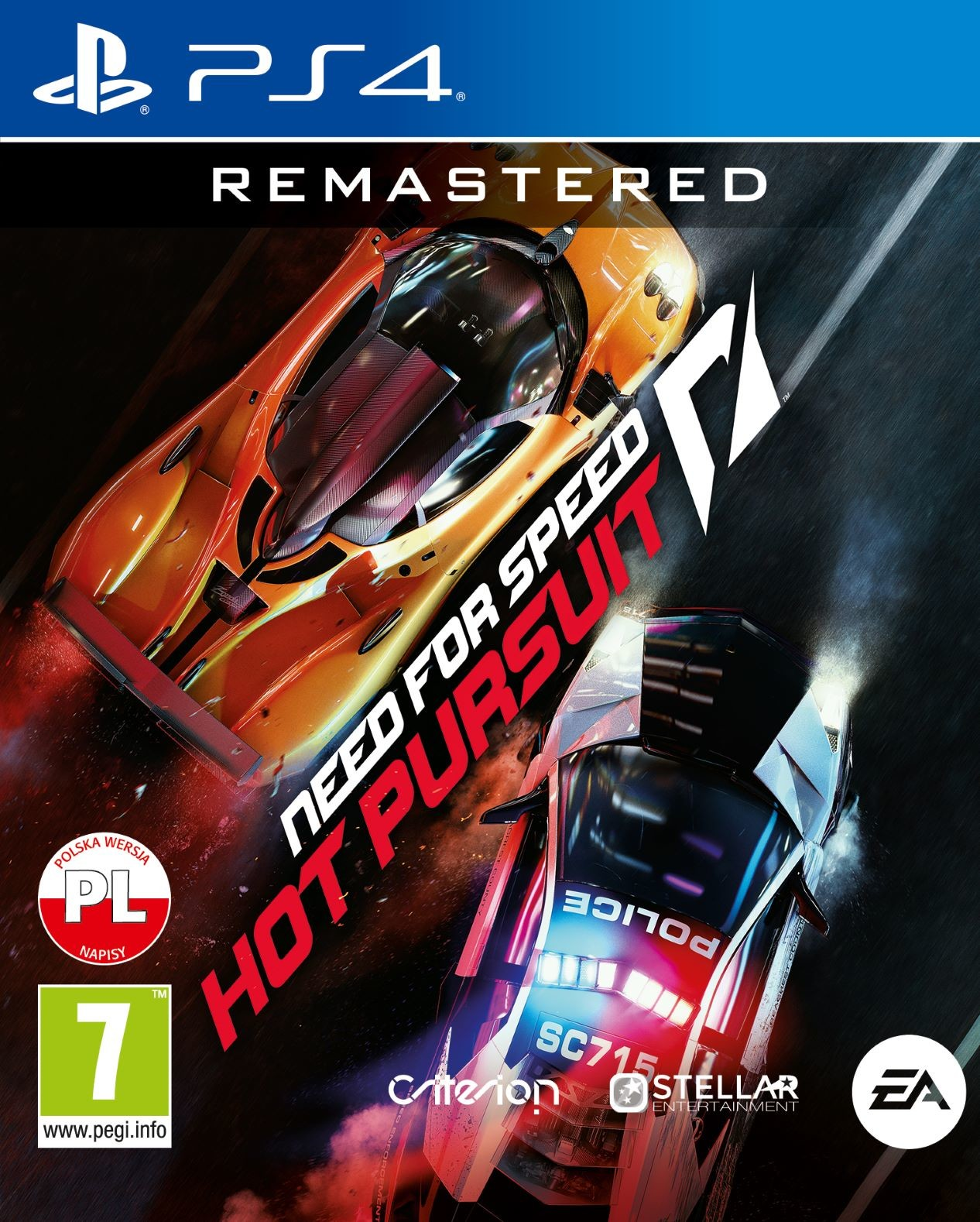 Need For Speed Hot Pursuit Remastered (GRA PS4)