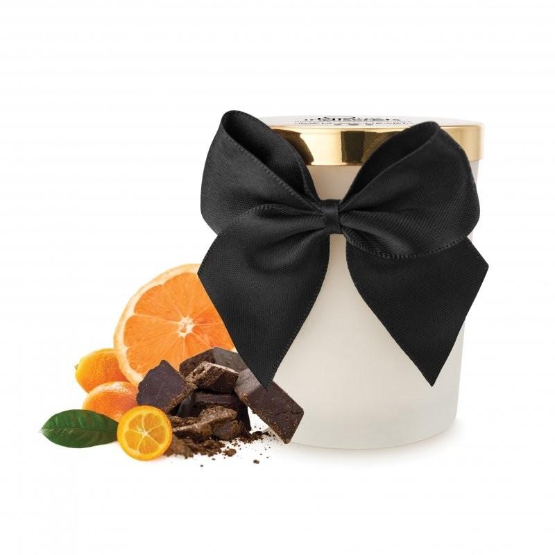 Bijoux Cosmetiques Świeca do masażu - Bijoux Cosmetiques Dark Chocolate Massage Candle Ciemna Czekolada