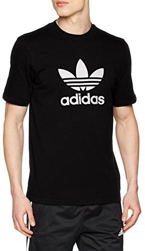 Adidas męski trefoil T-Shirt, czarny, xxl CW0709
