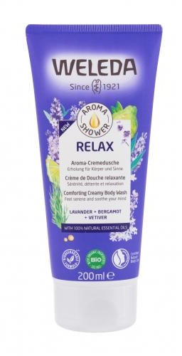 Weleda Aroma Shower Relax krem pod prysznic 200 ml dla kobiet