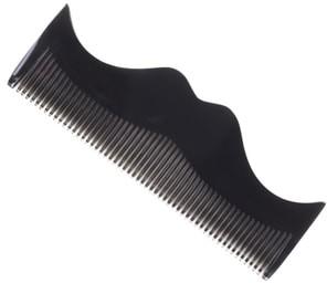 Morgan's Grzebień w kształcie wąsa do brody Morgan's  szary M081