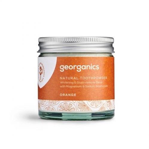 Georganics Georganics, Proszek do czyszczenia zębów, Red Mandarin, 60 ml 5060480200784