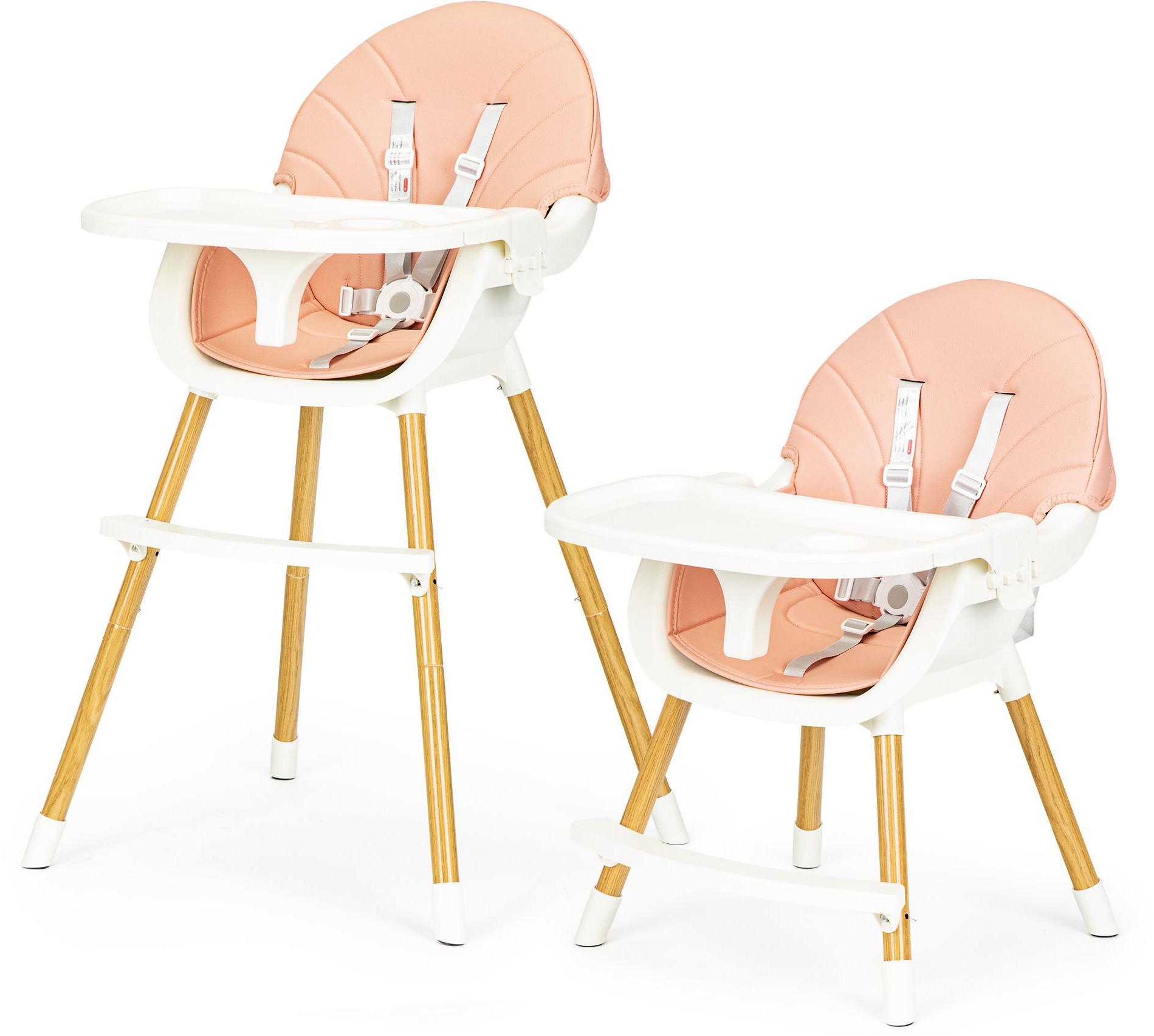 Ecotoys fotelik krzesełko do karmienia 2w1