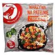 Auchan - Warzywa na patelnie z brokułami