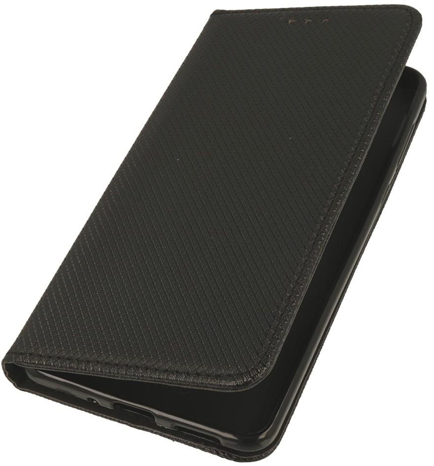 Magnet pokrowiec etui Smart Book czarne do ZTE Blade V9