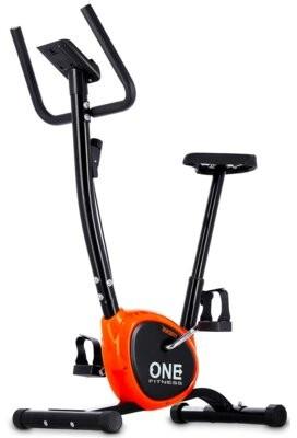 ONE FITNESS RW3011 Czarno-pomarańczowy