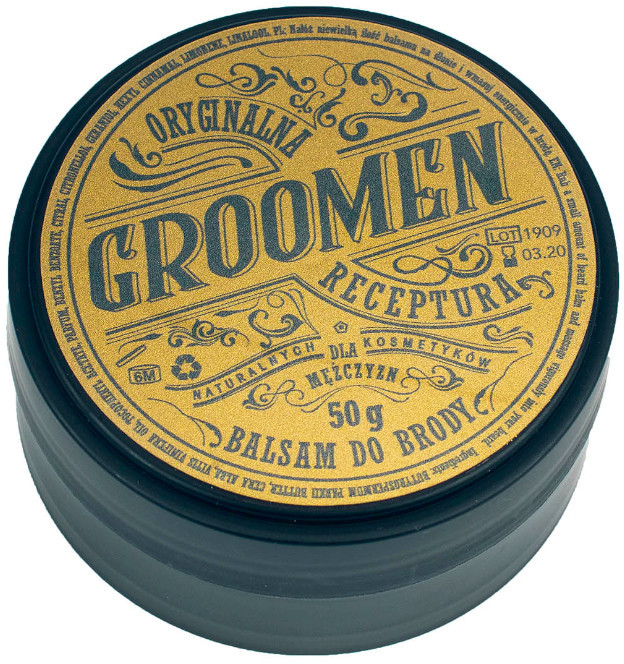 GROOMEN GROOMEN Zestaw EARTH do Brody Olejek 50 ml + Balsam 50 g
