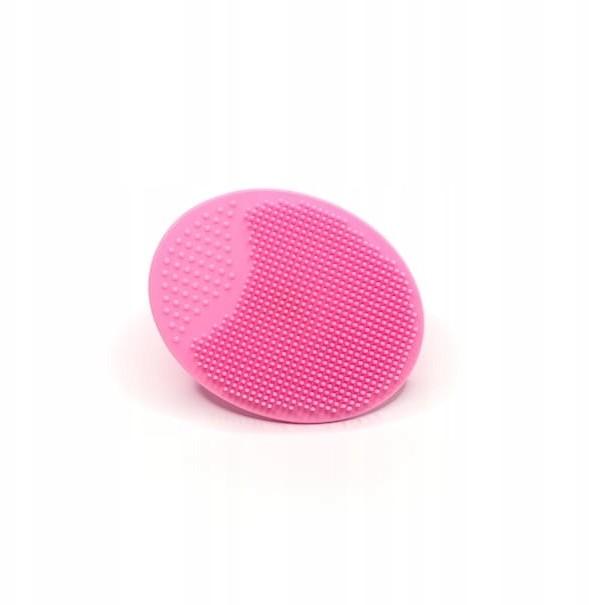 Silikonowa myjka do oczyszczania twarzy - Różowa