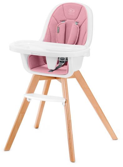 KinderKraft Tixi 2w1 Różowy/ Biały