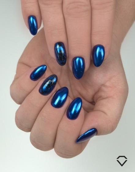 Semilac Efekt Lustra Semiflash Mirror Blue Dragonfly 07