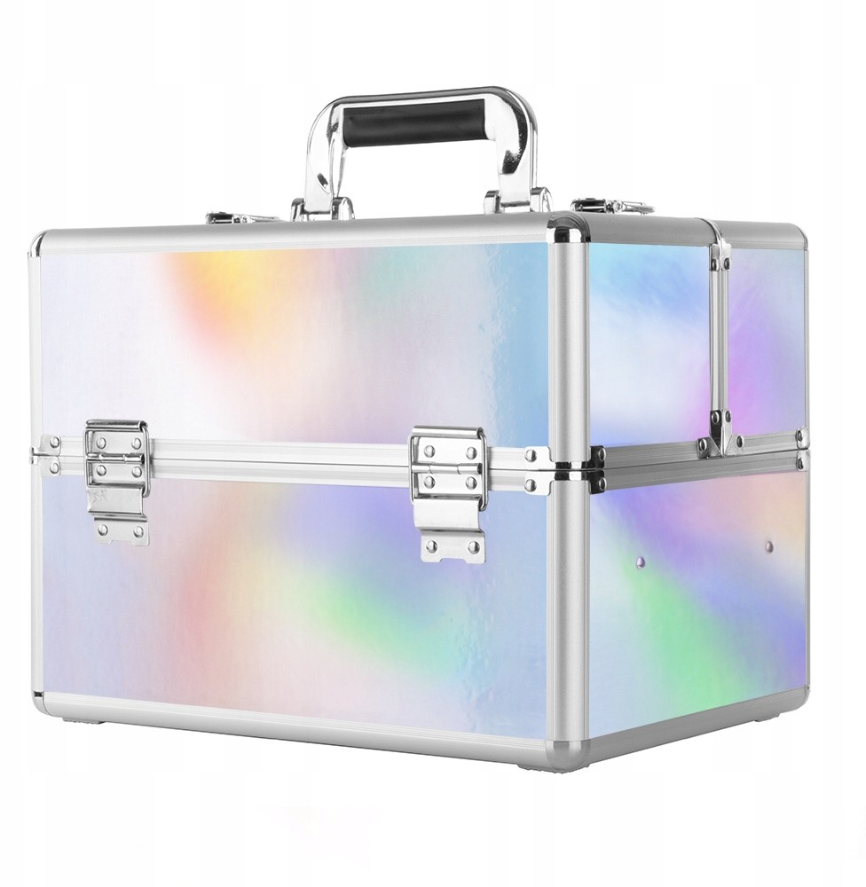 Kuferek Kosmetyczny XL Na Lampę Z Kratką Wzory