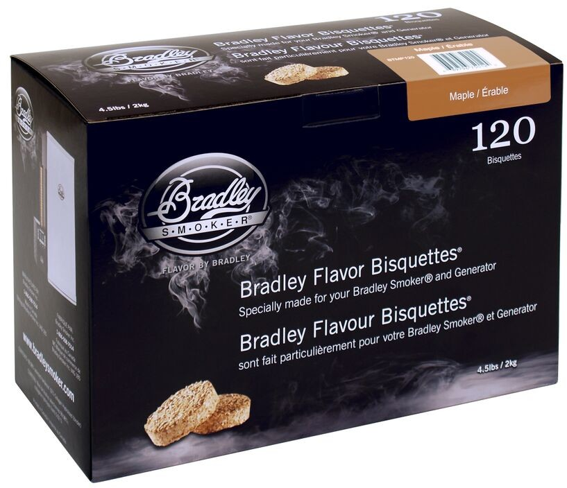 Bradley Brykiet Flavor Bisquettes 120 Klon (Maple)