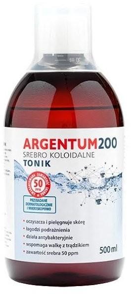 Argentum200 Argentum200, Srebro Koloidalne, tonik 50 ppm, 500 ml
