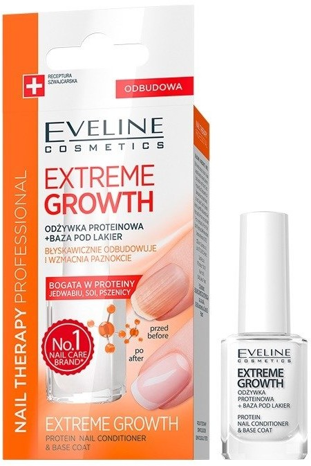 Eveline Extreme Growth Protein Nail Conditioner 12ml 77574-uniw