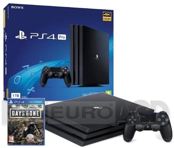 Sony PlayStation 4 Pro 1TB Czarny + Days Gone