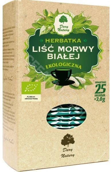 Dary Natury herbatka liśc morwy białej EKO x 25 sasz