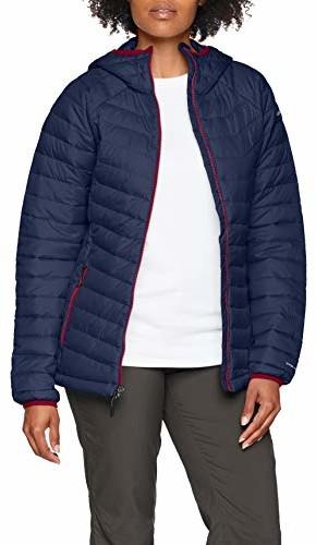 Columbia damska bluza z kapturem Powder Lite Insulated Jacket, niebieski, l 1699071