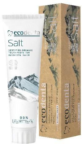 ECODENT ECODENTA Organic Pasta do zębów Salt do wrażliwych zębów 100ml ECODENTA Organic Pasta do zębów Salt do wrażliwych zębów 100ml