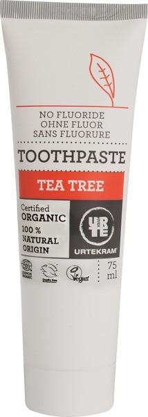 Urtekram Pasta do zębów z olejkiem z drzewa herbacianego 5290