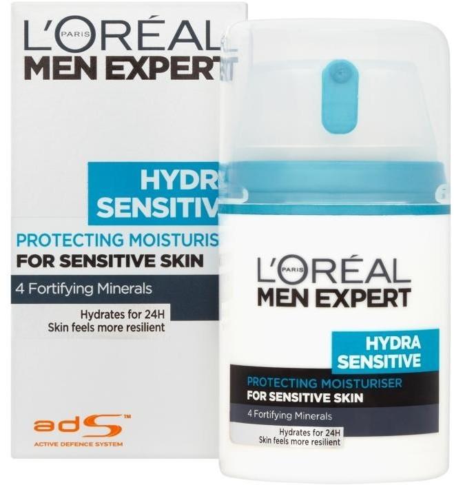 L'Oreal Paris L'Oreal Paris Men Expert Hydra Energetic Krem nawilżający do skóry wrażliwej 50 ml 0000046818