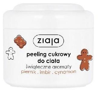 Ziaja Świąteczne aromaty Peeling cukrowy do ciała Piernik imbir cynamon 200ml 1234590401