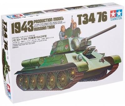 Tamiya Russian T34/76 19 43 Tank GXP-499093