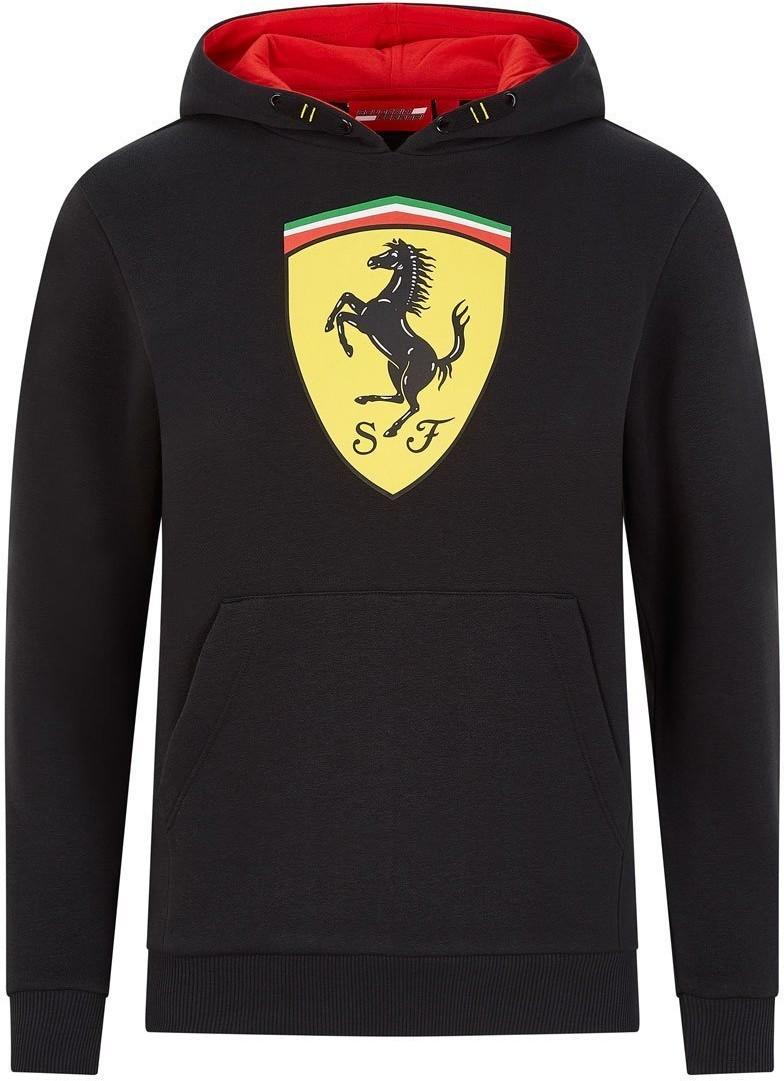 Ferrari Scuderia F1 Team Bluza dziecięca Logo czarna Scuderia 2020 130101048100092