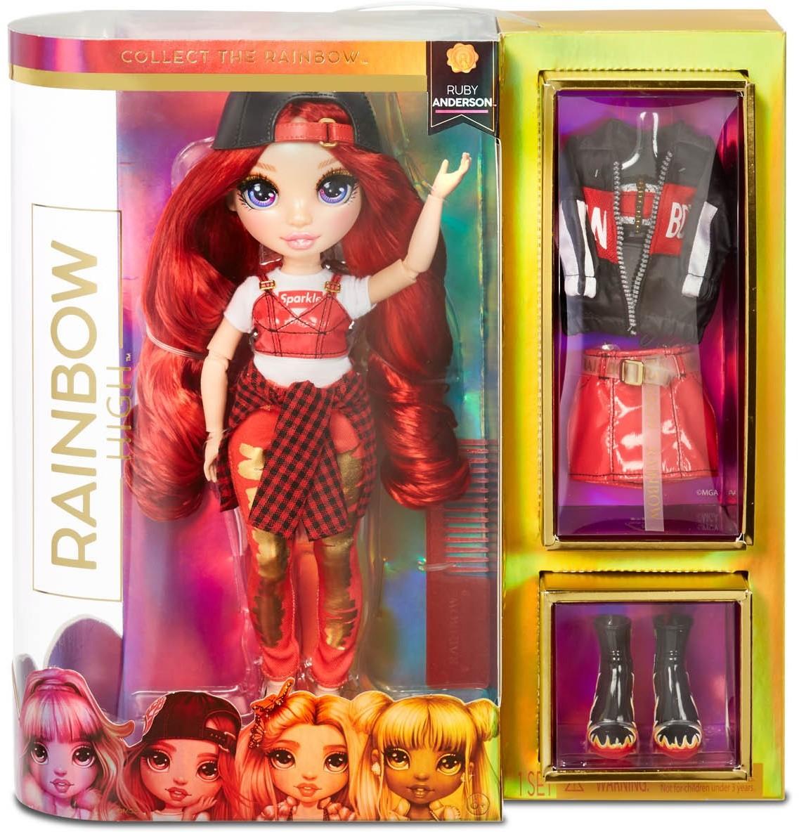 Rainbow High Rainbow High Ruby Anderson Lalka modowa 569619 0000042058