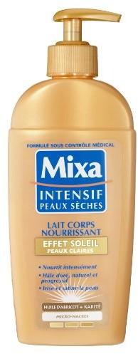 Mixa ciała intensywne suchość Milk efekt Soleil skóry 1056801001