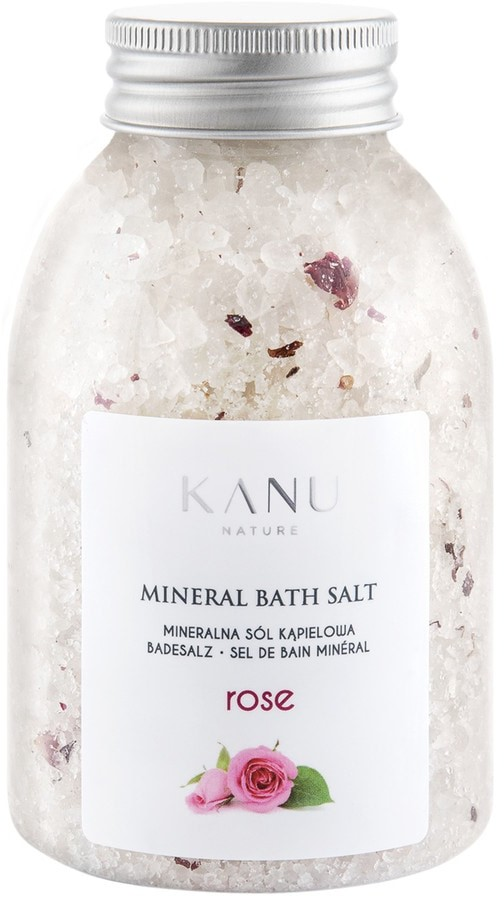 Kanu Nature Nature Mineral Rose Sól do kąpieli 350g